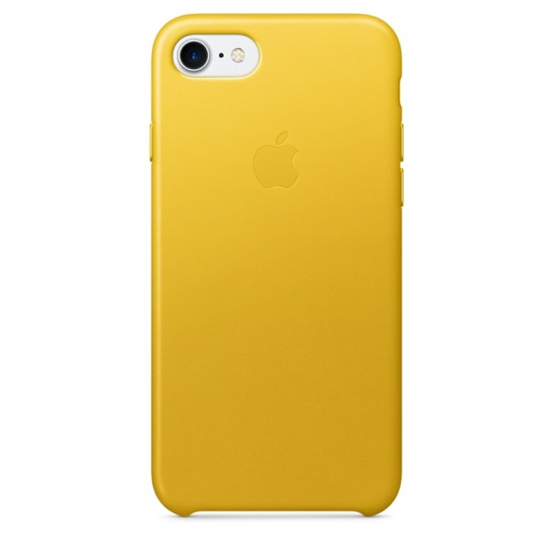 Apple iPhone 7 Leather Case - Sunflower