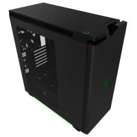EXDISPLAY NZXT H440 New Edition Black / Green Chassis - Designed by Razer