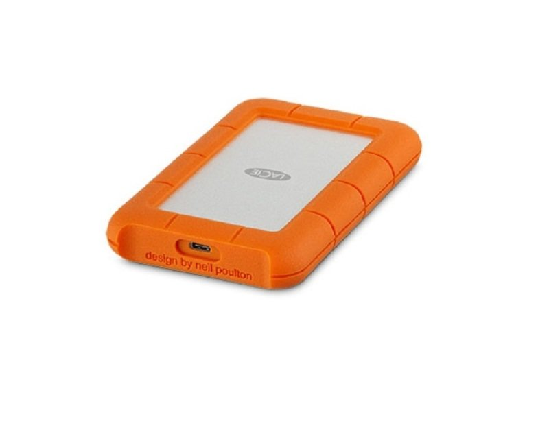 Image of Lacie STFR1000800 1TB Rugged USB-C Portable Hard Drive