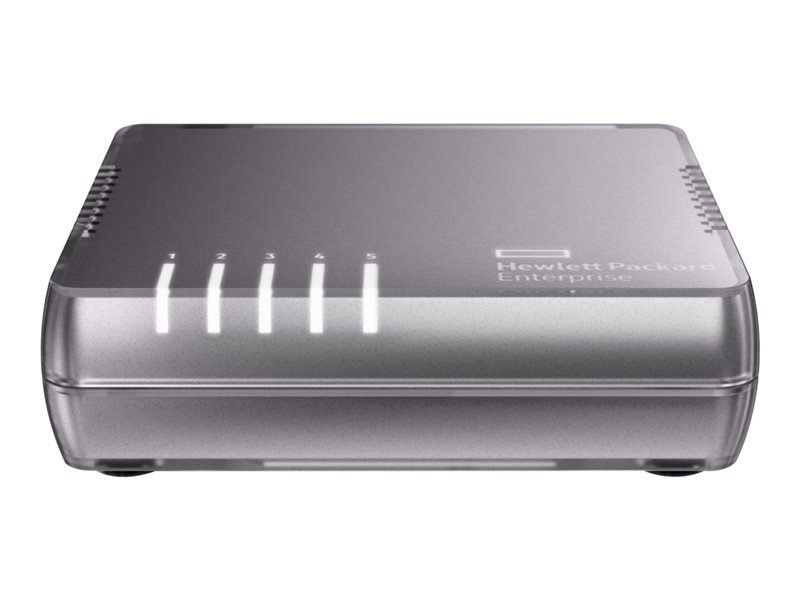 HPE OfficeConnect 1405 5G v3 5 Port Unmanaged Switch