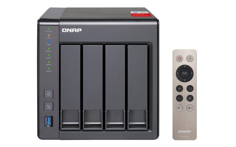 QNAP TS-451+-2G 32TB (4 x 8TB WD RED PRO) 4 Bay NAS Unit with 2GB RAM