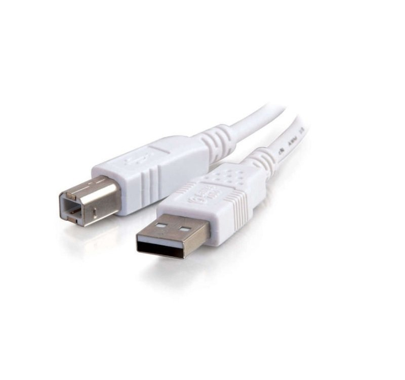 3M USB 2.0 A/B Cable in White