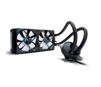 Fractal Design Celsius S24 Water Cooling PWM Control 500 - 2000 RPM Dual Fan - Black