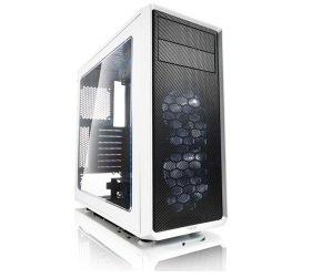 Fractal Design Focus G White Midi Tower Gaming Case - USB 3.0