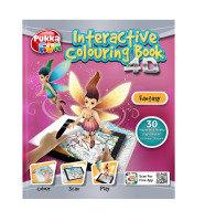 Pukka Fun 4D Augmented Reality Interactive Colouring Book - Fantasy