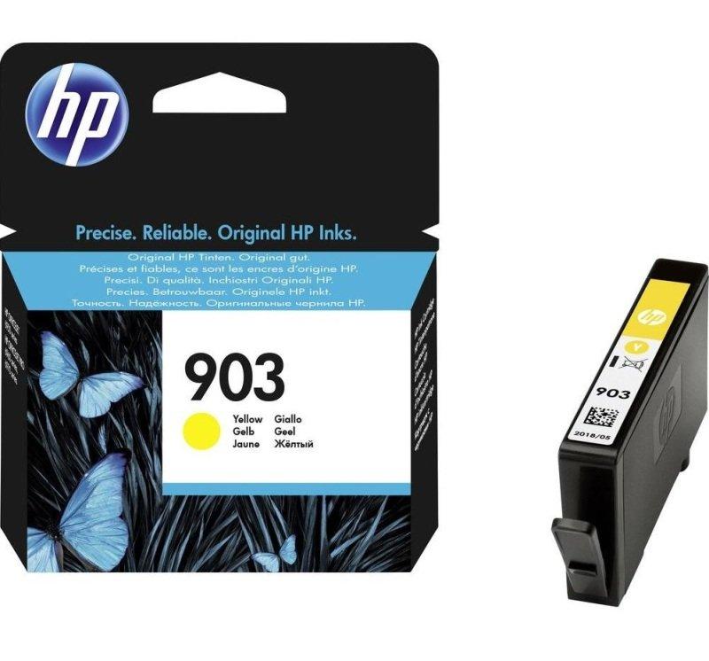 HP 903 Yellow Original Ink Cartridge - T6L95AE