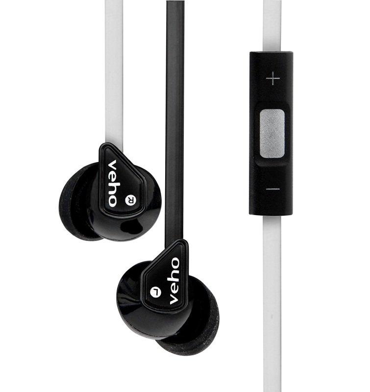 Veho Z-2 Earbuds Black & White