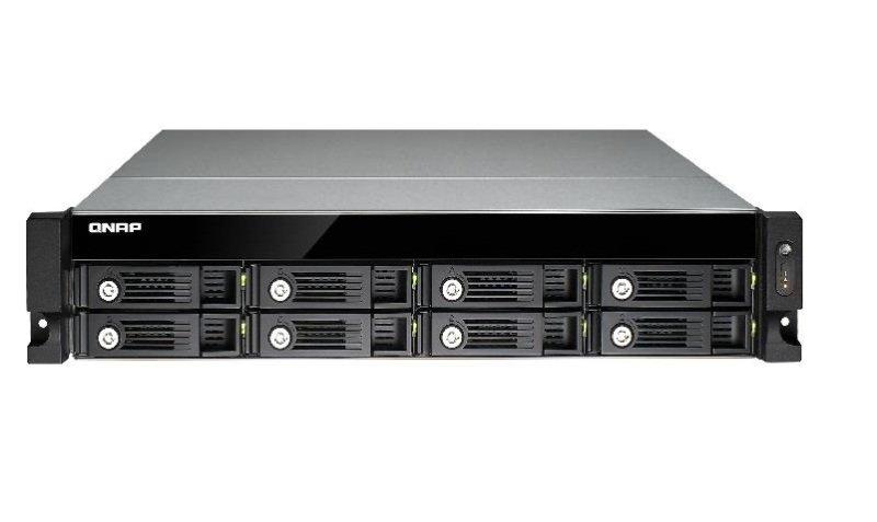 QNAP TS-853U-RP 80TB (8 x 10TB SGT-IW PRO) 8 Bay Rack NAS