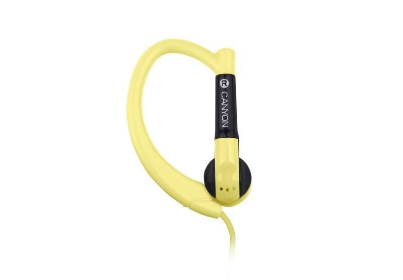 Canyon Sport Earphones Yellow