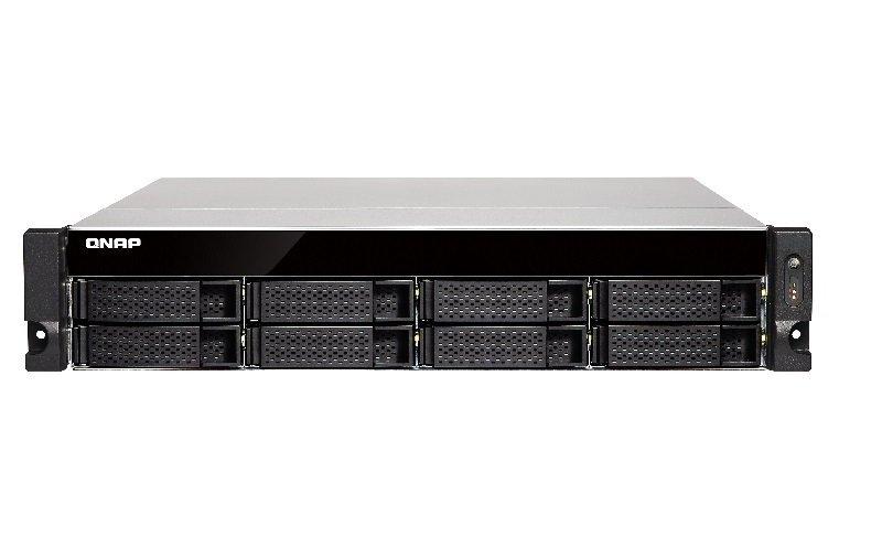 QNAP TS-863U-4G 48TB (8 x 6TB WD RED PRO) 8 Bay Rack with 4GB RAM