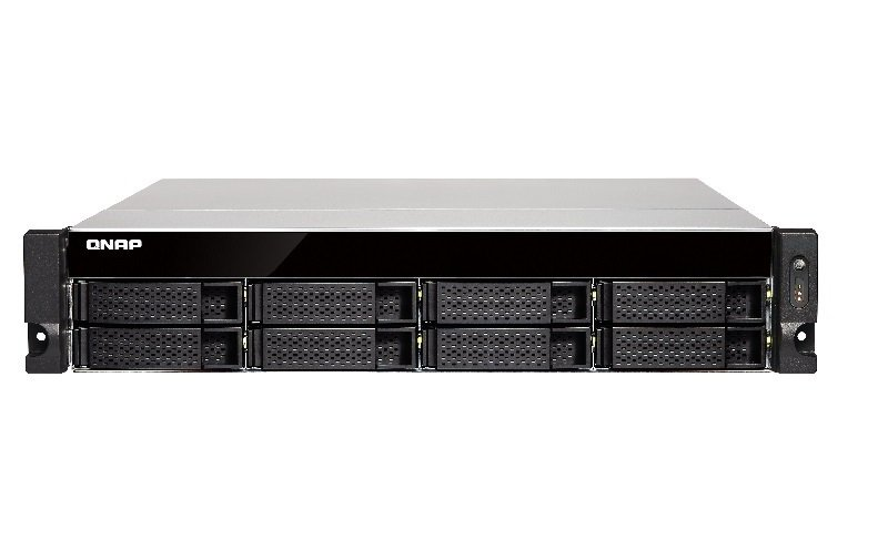 QNAP TS-863U-4G 48TB (8 x 6TB WD GOLD) 8 Bay Rack with 4GB RAM