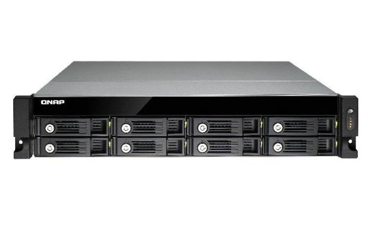 QNAP TVS-871U-RP-I3-4G 48TB (8x6TB WD GOLD) 8 Bay Rack with 4GB RAM