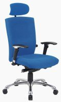 HH Solutions Wave Extra Fabric Chair - Blue