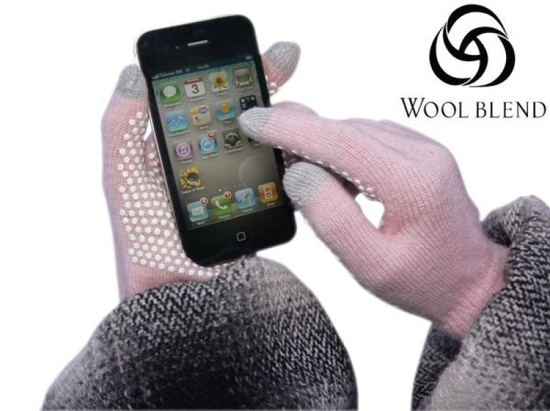 Sandberg 460-02 Touchscreen Glove Pink