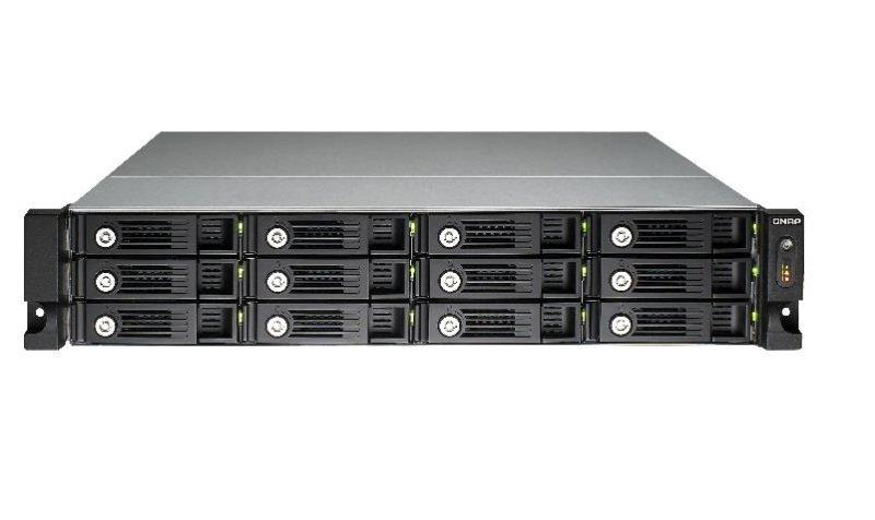 QNAP TS-1253U 72TB (12 x 6TB WD GOLD) 12 Bay Rack