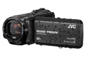 JVC GZ-RX615BEU Memory HD Quad Proof 10MP 40x Zoom WiFi Camcorder Black