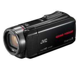 JVC GZ-R435 Quad Proof Camcorder Black