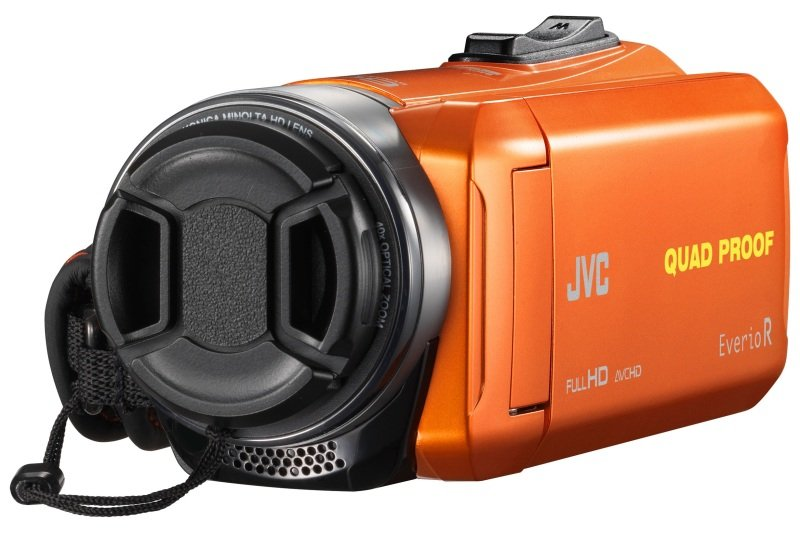 JVC GZ-R435 Quad Proof Camcorder Orange