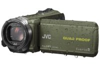 JVC GZ-R435 Quad Proof Camcorder Green