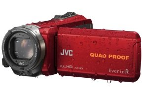 JVC GZ-R435 Quad Proof Camcorder Red