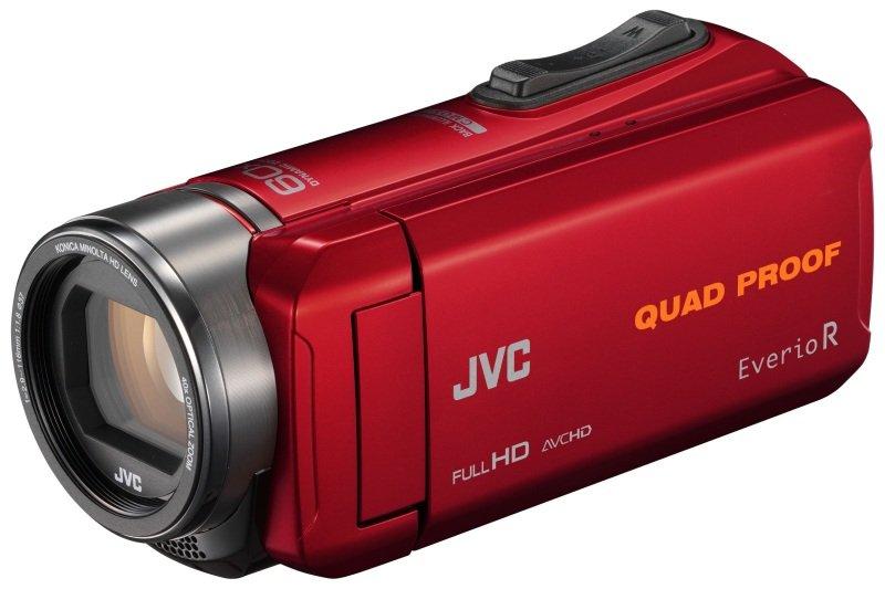 JVC GZ-R435 Quad Proof Camcorder Red