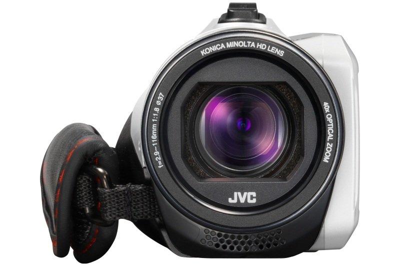 JVC GZ-R435 Quad Proof Camcorder White