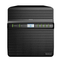 Synology DS418J 4 Bay Desktop NAS Enclosure