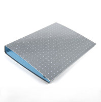 Pukka Pads Metallic A4 Ring Binder - Silver - 1 Pack