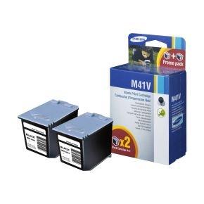Samsung INK M41V Ink cartridge - Black - 2 packs
