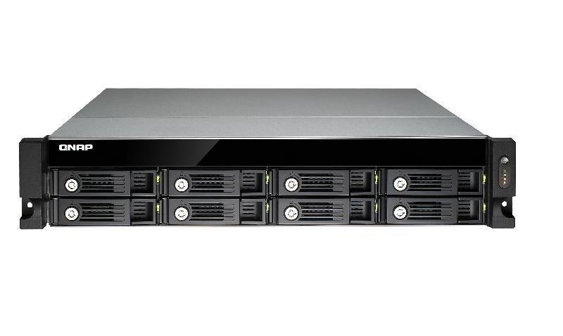QNAP TVS-871U-RP-I5-8G 64TB (8 x 8TB SGT-IW) 8 Bay with 8GB RAM