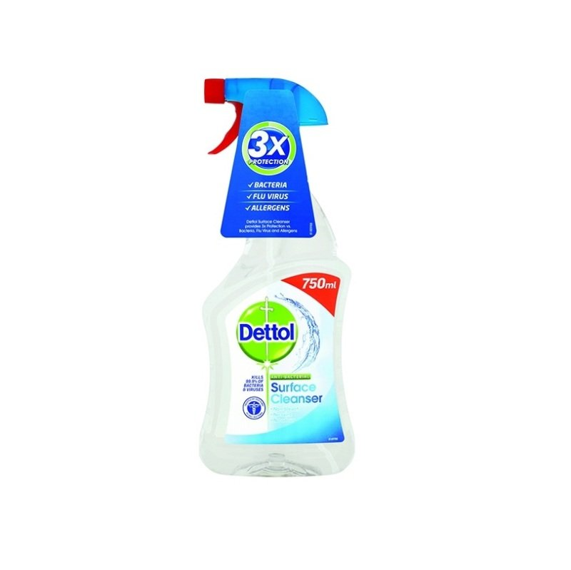 Image of Dettol Anti-Bacterial Surface Cleanser Spray 750ml