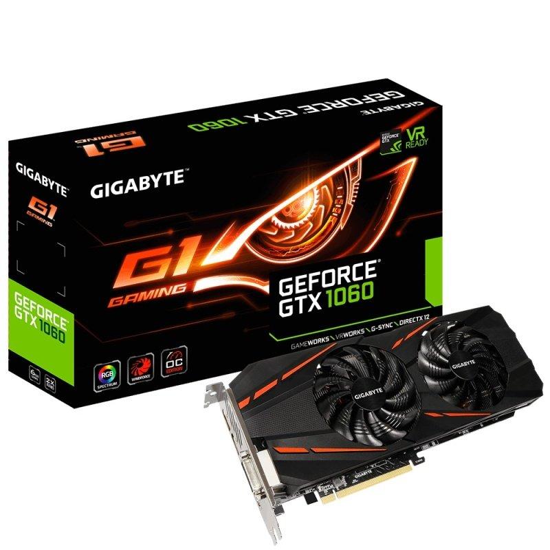 Gigabyte GTX 1060 6GB G1 Gaming Graphics Card