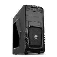 EXDISPLAY AvP Storm-P27 Mid Tower Black 1x12cm Bk Fan USB 3.0 Window Case