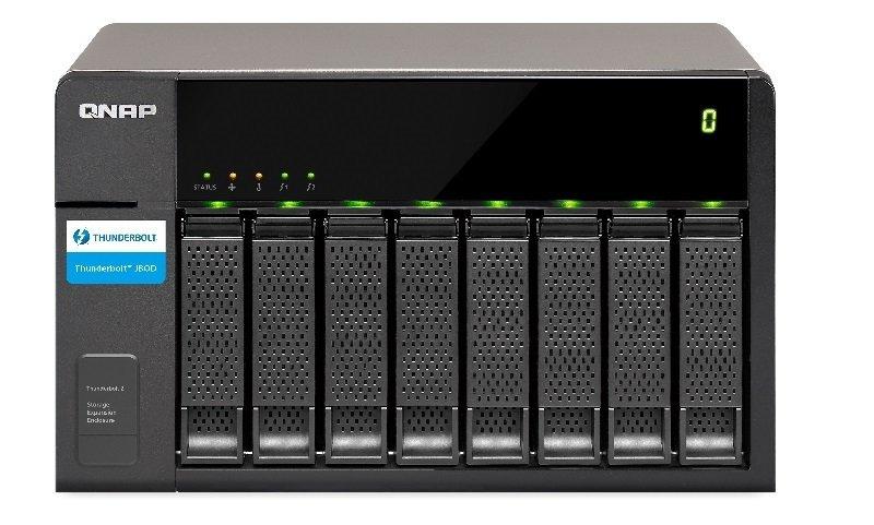 QNAP TX-500P 10TB (5 x 2TB WD RED PRO) 5 Bay NAS Expansion