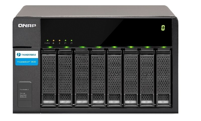 QNAP TX-500P 20TB (5 x 4TB WD GOLD) 5 Bay NAS Expansion