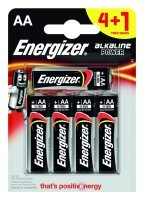 Energizer Max E91 AA 5 Pack (4+1)