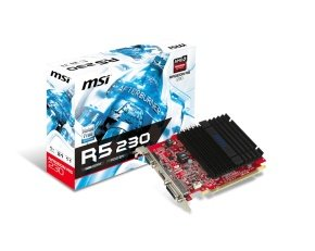 MSI AMD RADEON R5 230 1GB DDR3 Graphics Card