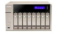QNAP TVS-863+-16G 64TB (8 x 8TB WD GOLD) 8 Bay NAS Unit with 16GB RAM