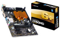 EXDISPLAY Biostar J3160MD Ver. 6.x VGA DVI 6-Channel HD Audio Micro ATX Motherboard