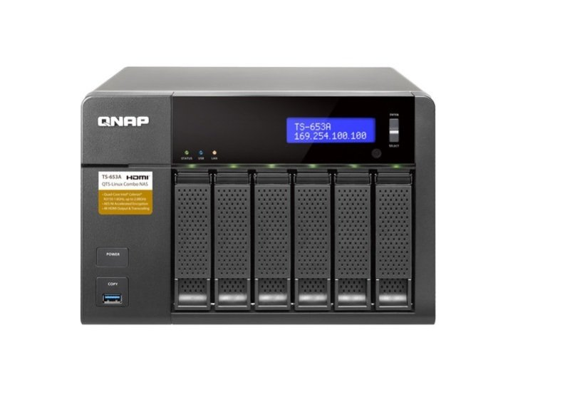 QNAP TS-653A-8G 48TB (6 x 8TB WD GOLD) 6 Bay NAS with 8GB RAM