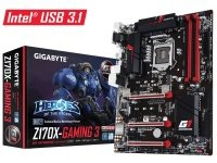 Gigabyte GA-Z170X-GAMING 3 Socket LGA1151 HDMI 7.1 Channel Audio ATX Motherboard