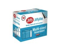 Jiffy Padded Bag Assorted Sizes Gold (Pack of 50)