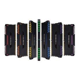 DDR4 4266MHz 16GB 2 x 288 DIMM Unbuffered 19-26-26-46 Vengeance Black Heat spreader Custom Performance PCB RGB LED 1.40V XMP 2.0(200series only)