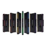 DDR4 3800MHz 128GB 8 x 288 DIMM Unbuffered 19-19-19-39 Vengeance Black Heat spreader Custom Performance PCB RGB LED 1.35V XMP 2.0