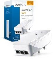 Devolo dLAN powerline 1200 TRIPLE PLUS (Gigabit Ethernet) Add-On adapter