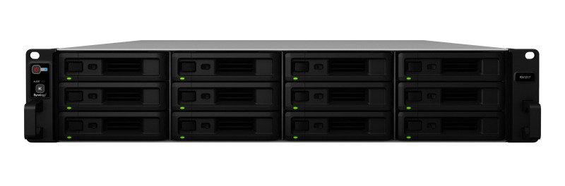 Synology RX1217 120TB (12 x 10TB WD RED PRO) 12 Bay Rack