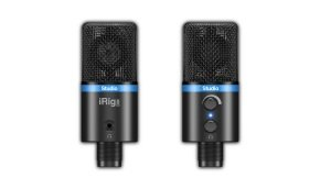 IK Multimedia IP-IRIG-MICSTDBLA-IN iRig Mic Studio - Black