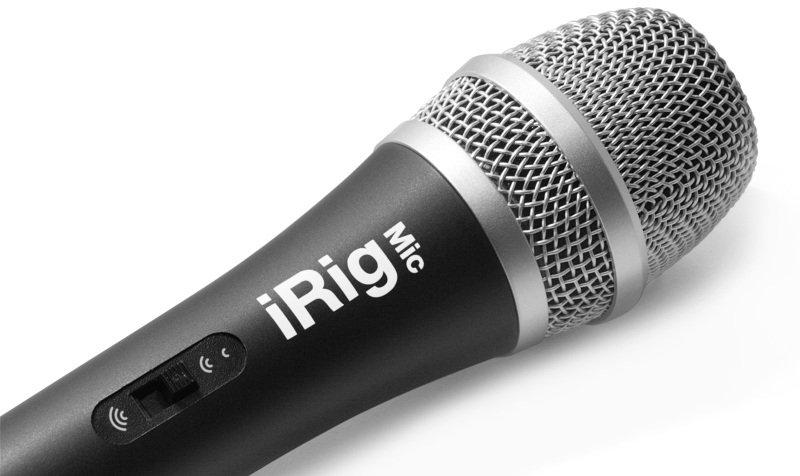 Image of IK Multimedia IP-IRIG-MIC-IN iRig Mic Hanheld Microphone