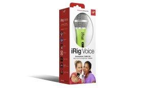 IK Multimedia IP-IRIG-MICVOG-IN iRig Voice Handheld Microphone - Green