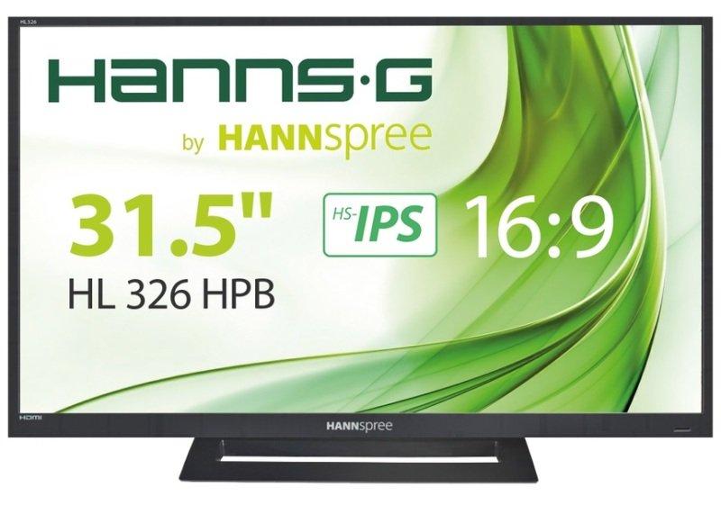 """EXDISPLAY HannsG HL326HPB 31.5"""" Full HD Monitor"""